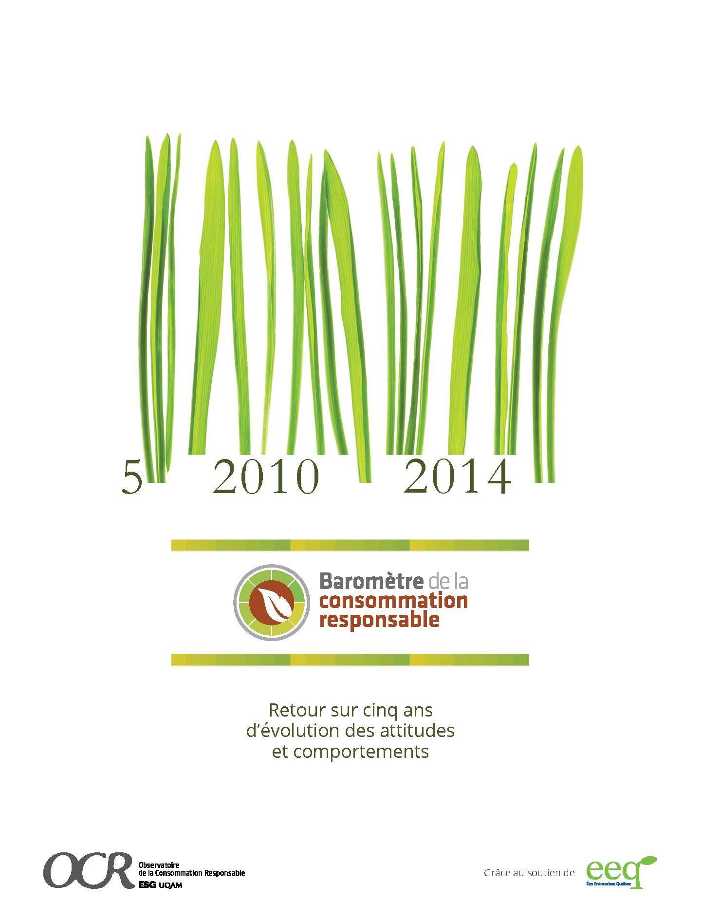 Baromètre de la consommation responsable Édition 2014