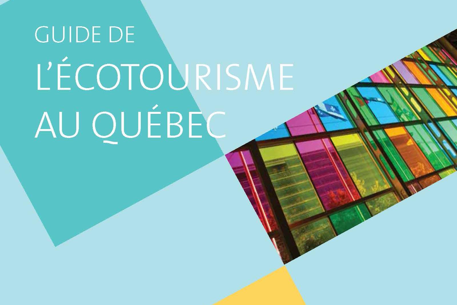 Le Guide de l'écotourisme au Québec