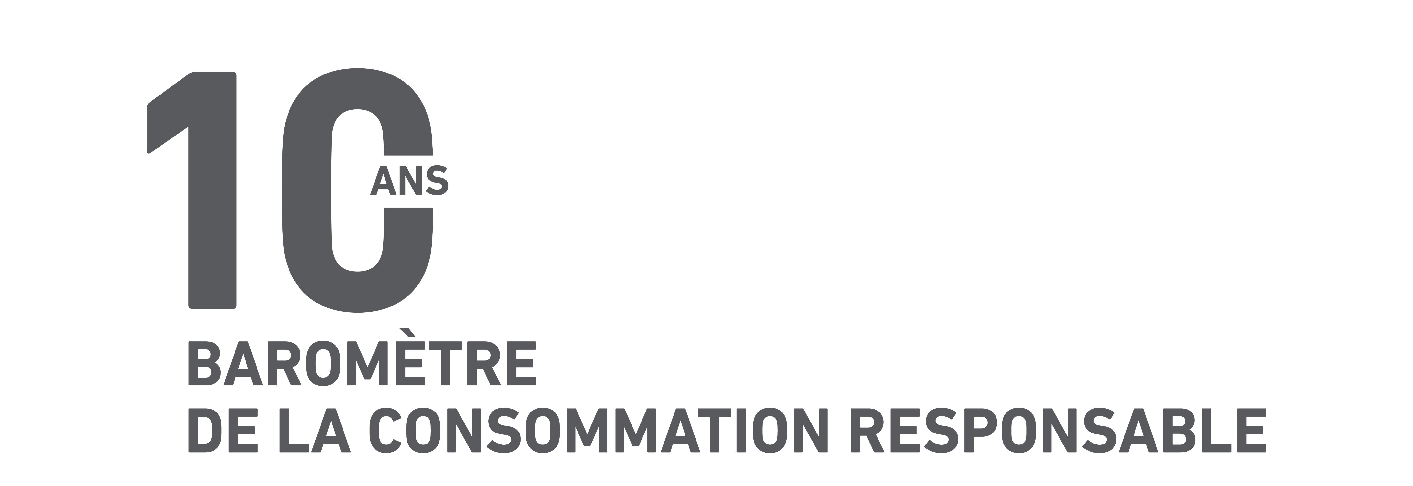Baromètre de la consommation responsable Édition 2019